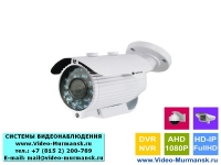 Уличная AHD камера Optimus AHD-H012.1 (2.8-12)